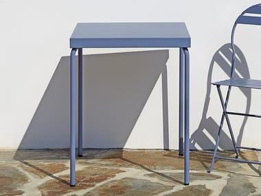 Tavolo impilabile quadrato in metallo 5029 | Tavolo