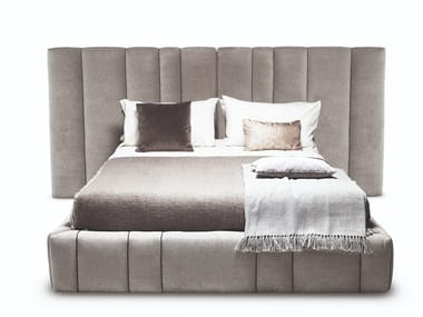 Fabric bed with upholstered headboard 5050 ITALO