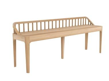 Oak bench OAK SPINDLE | Bench