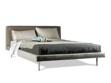Upholstered fabric or leather bed 5200 BEL AIR