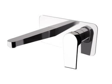 Miscelatore per lavabo a muro con aeratore ARTIC 565-AT | Miscelatore per lavabo a muro