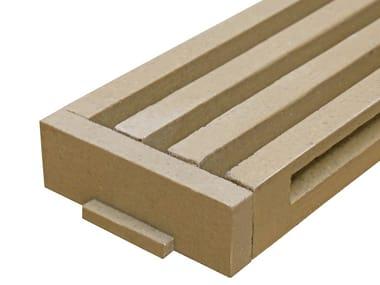 Polymere concrete Drainage channel and part TOP LINE end cap