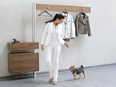 Wall-mounted wooden hallway unit 590 | Hallway unit