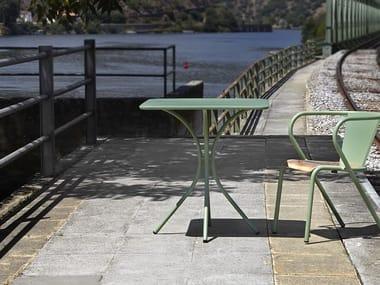 Tavolo da giardino quadrato 591 | Tavolo quadrato