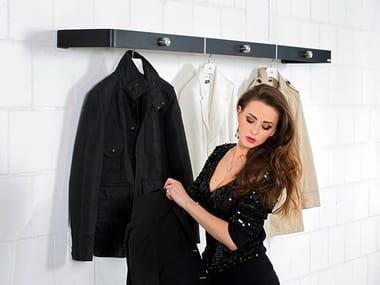 Wall-mounted steel coat rack 597 | Coat rack