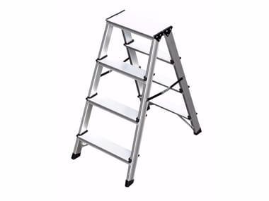 Folding aluminium step stools 6030   Step stools