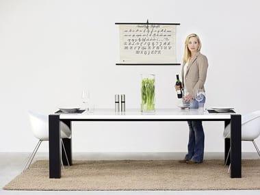 Rectangular dining table QUAD - ART608   Table