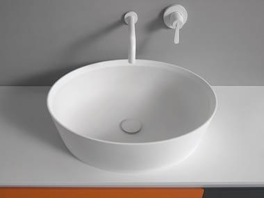 Countertop oval Ceramilux® washbasin 661 | Washbasin