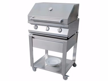 Gas stainless steel barbecue 679070 | Barbecue