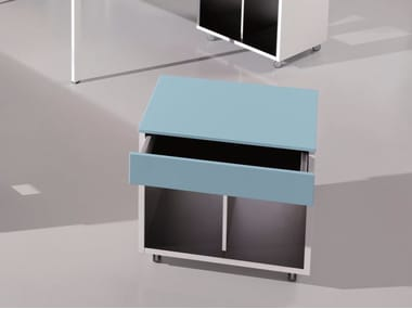 Office drawer unit with casters 6X3 | Office drawer unit