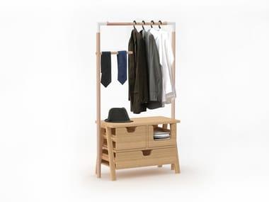 Teak coat rack 7 DAYS