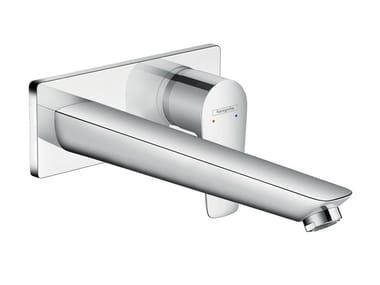 Wall-mounted single handle washbasin mixer TALIS E | Wall-mounted washbasin mixer