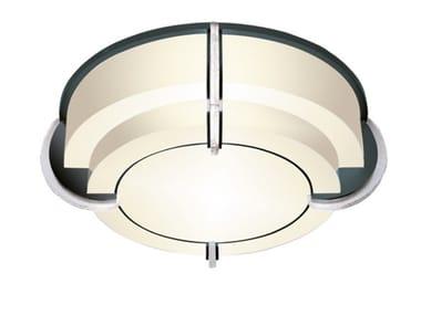 Lampada da soffitto a luce diretta fatta a mano in vetro 727 NOI | Lampada da soffitto