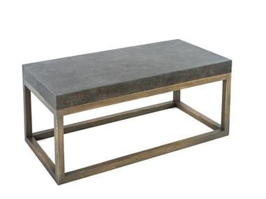 Tavolino rettangolare in gres porcellanato 7415 | Tavolino