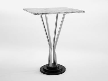 Square marble contract table 748 | Table