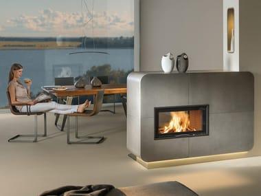 Double-sided Fireplace insert 75S II
