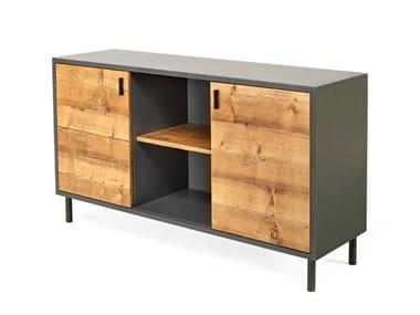 Wooden sideboard with doors 7694 | Sideboard