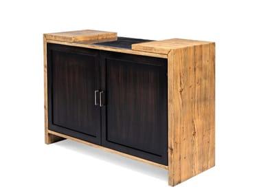 Madia in legno con ante a battente 7790 | Madia