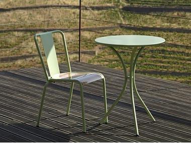 Sedia da giardino in metallo 786 - A | Sedia