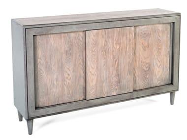 Madia in legno con ante scorrevoli 8439 | Madia
