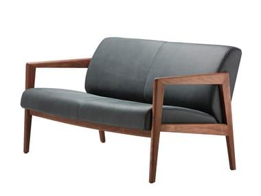 Leather small sofa 862 F | Leather small sofa