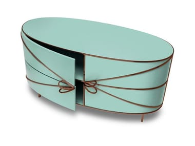 Lacquered sideboard with doors 88 SECRETS | Sideboard