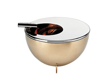 Contemporary style metal ashtray 90047 | Ashtray