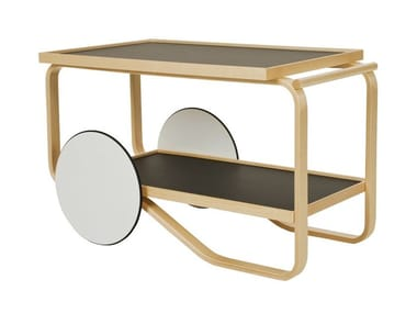 Birch food trolley 901 TEA TROLLEY | Wooden food trolley