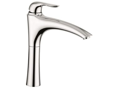 Countertop 1 hole brass kitchen mixer tap with swivel spout 91097 | Kitchen mixer tap