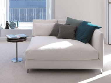 Upholstered fabric day bed 930 ZONE SLIM XL | Upholstered day bed