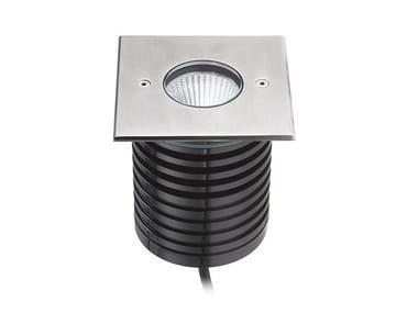 Segnapasso a LED a pavimento in alluminio 93021