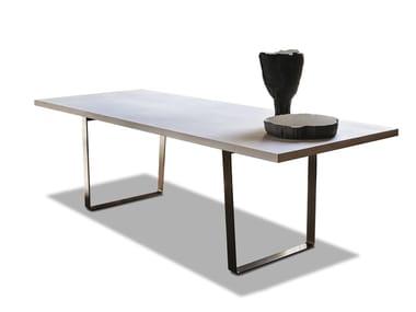 Tavolo da pranzo rettangolare in MDF 9400 RIBBON | Tavolo