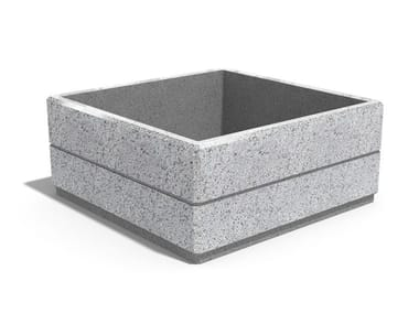 Square concrete Flower pot 96 | Flower pot