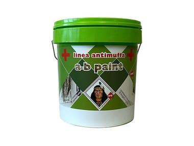 Idropittura murale lavabile antimuffa e antialga per esterno ed interno A-B PAINT LAVABILE