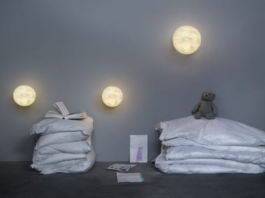 Nebulite® wall light A.MOON