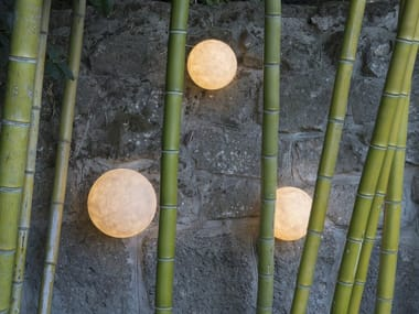 Contemporary style LED rubber wall lamp A.MOON OUT