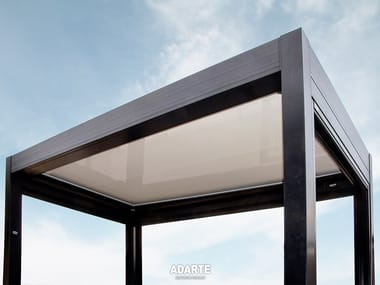 Aluminium pergola with thermal insulation panels A701 STABYLA