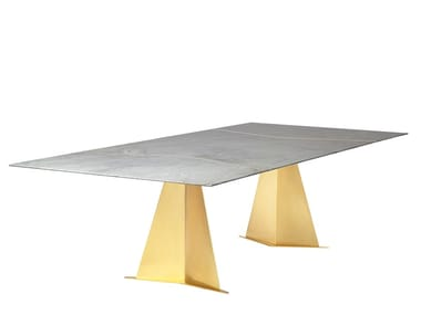 Rectangular dining table AARON | Dining table