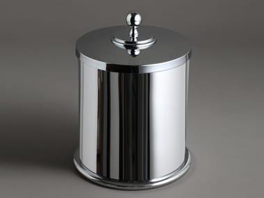 Chromed brass bathroom waste bin CLASSIC   Bathroom waste bin