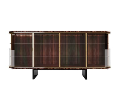 Contemporary style engineered wood sideboard ABBEY | Sideboard