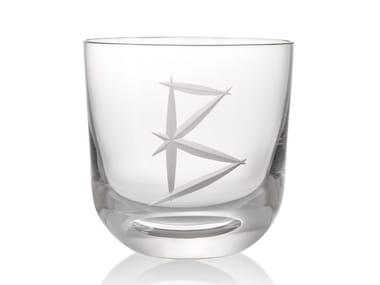 Water crystal glass ABC B