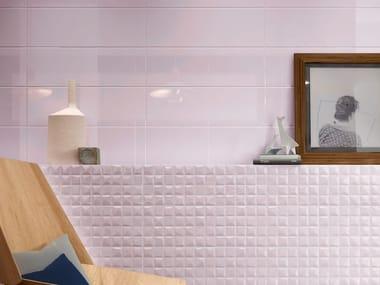 Pavimento/rivestimento in ceramica a pasta bianca ABITA LILLA
