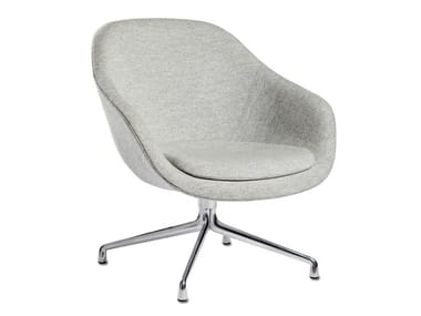 Swivel easy chair with armrests ABOUT A LOUNGE CHAIR AAL81