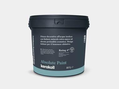 Pittura decorativa all'acqua ABSOLUTE PAINT