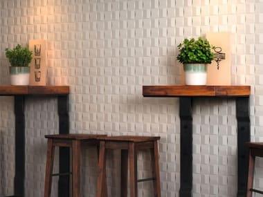 Rivestimento in ceramica ABSOLUTE WHITE | Cube 3D Satin
