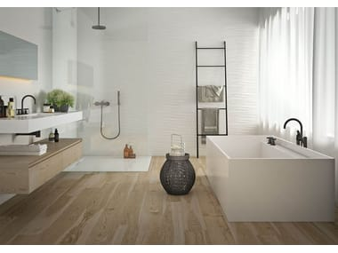 Rivestimento in ceramica ABSOLUTE WHITE | Twist 3D Lux