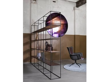 Open freestanding bookcase ABSTRACTA SYSTEM® | Bookcase