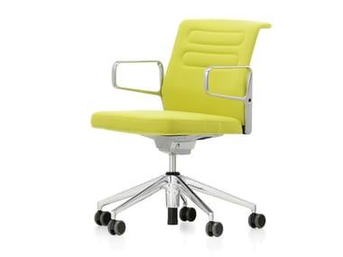 Sedia ufficio girevole in tessuto AC 5 STUDIO | Sedia ufficio in tessuto