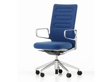Sedia ufficio in tessuto a 5 razze con schienale medio AC 5 WORK | Sedia ufficio in tessuto