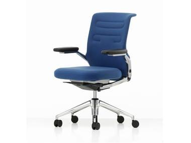 Sedia ufficio girevole in tessuto AC 5 WORK LOWBACK | Sedia ufficio in tessuto